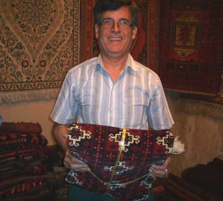 Ahmad, Carpet Merchant in Esfahan